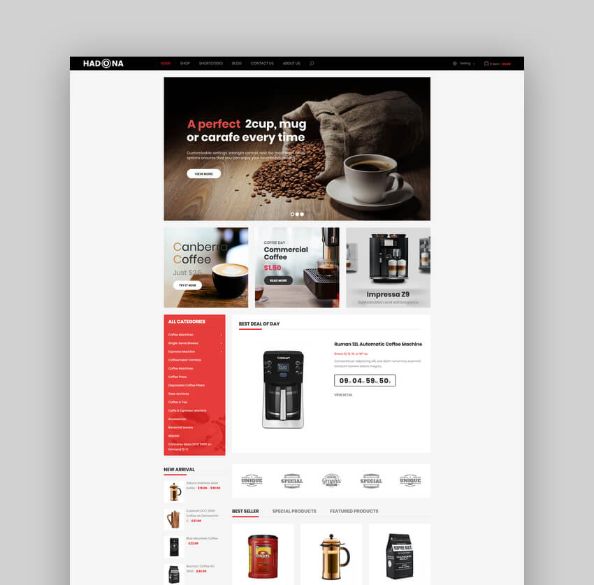 Hadona - One Product WooCommerce WordPress Theme