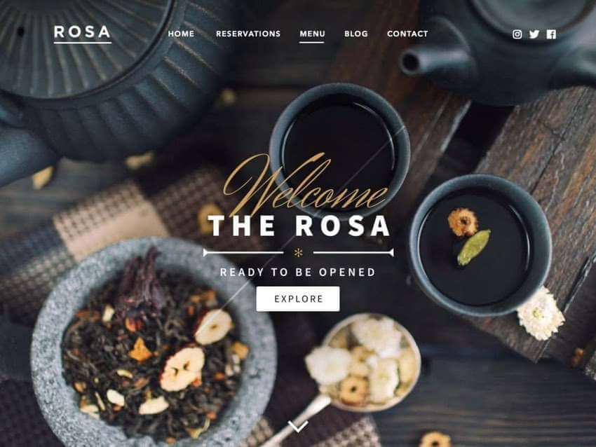 Rosa Lite - WordPress Theme