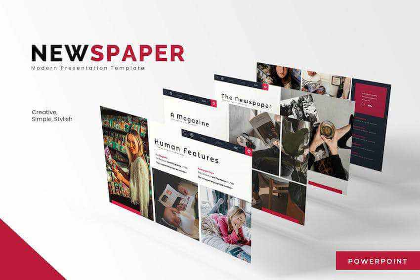 20 Best Free News Newspaper Powerpoint Templates Ppt Slides For 2020