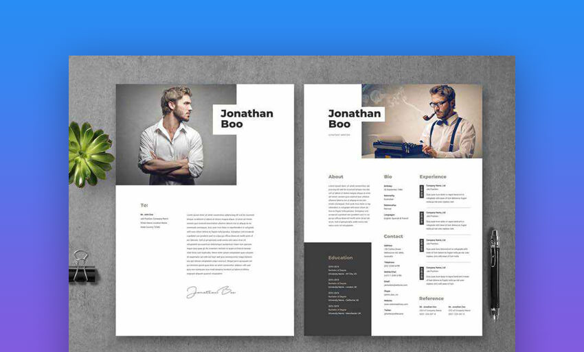Resume CV Template 19