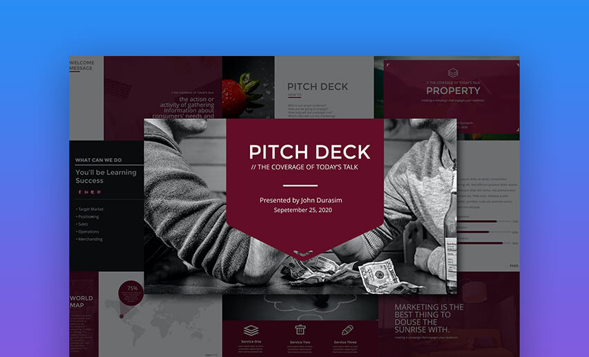 Business Pitch Deck PowerPoint
