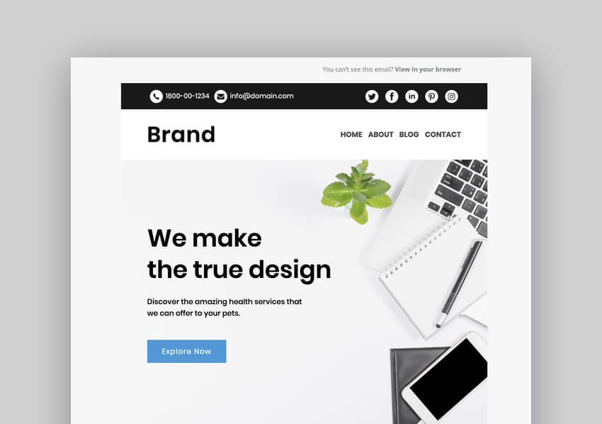 Brand - Multipurpose Responsive Mailchimp Email Template