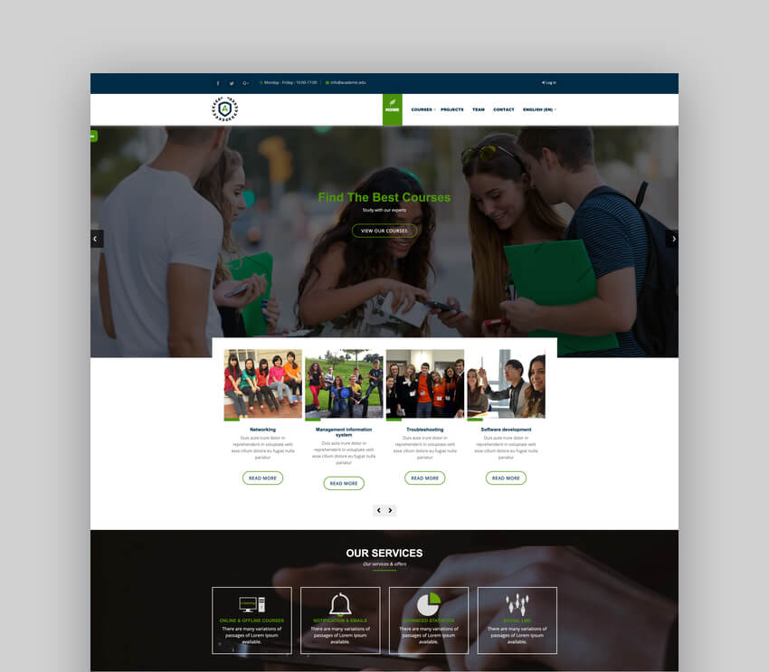 New Learning  University Theme For Moodle