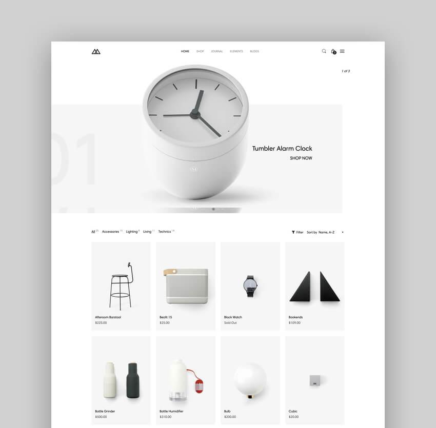 Interior Design Shopify AR Theme - Maison