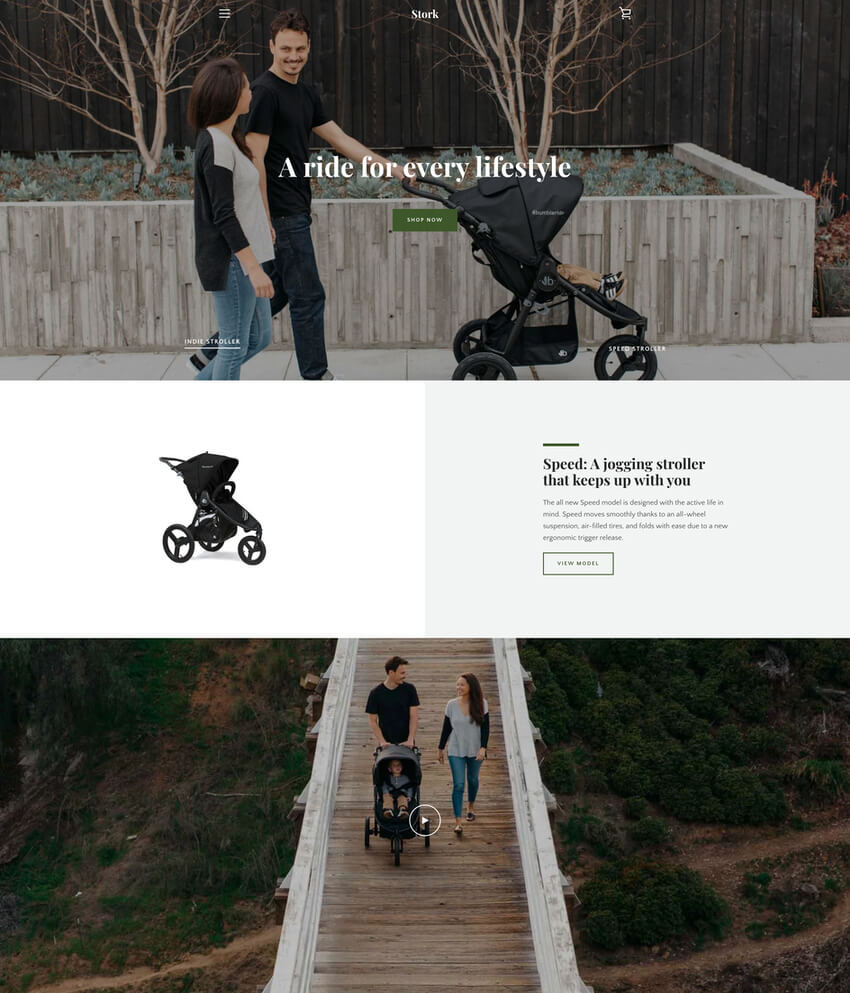 Narrative Theme - Free Shopify AR Website Template