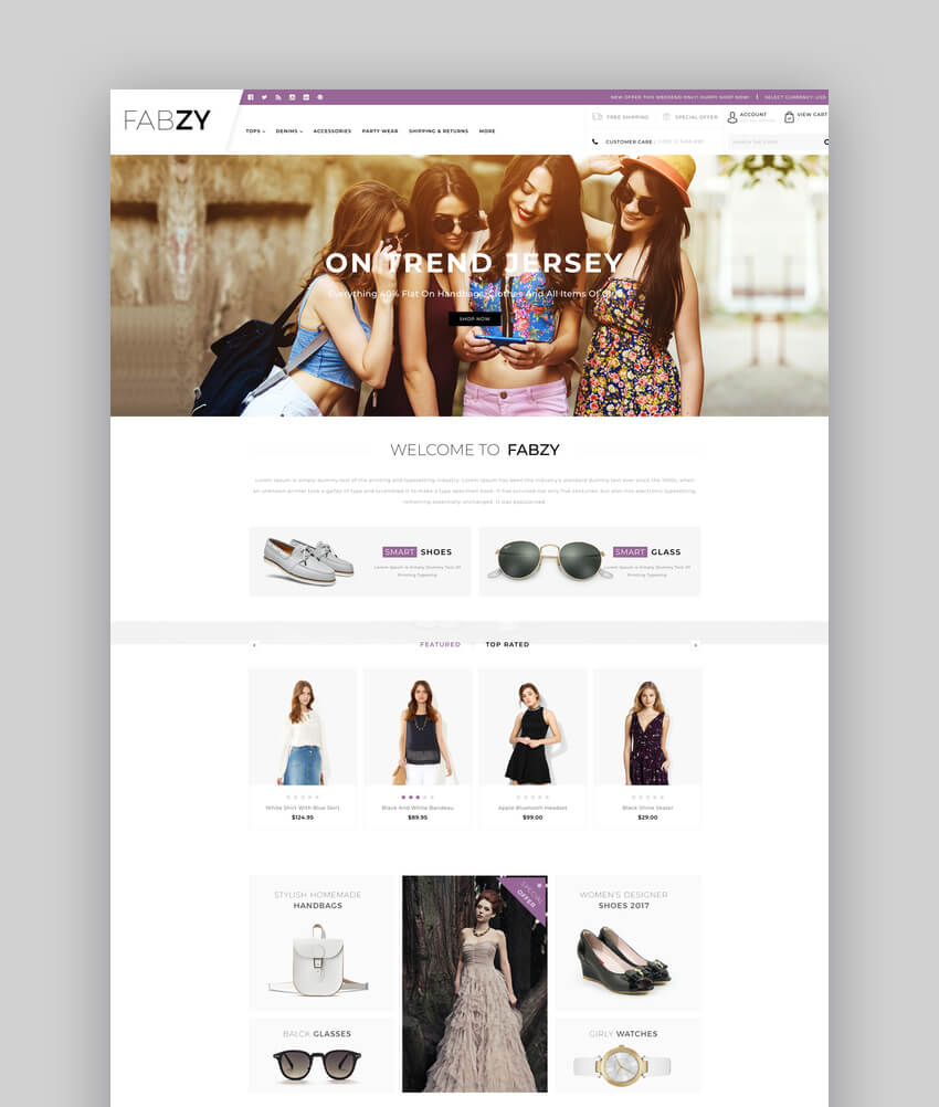 Febzy - Multipurpose Stencil BigCommerce Theme