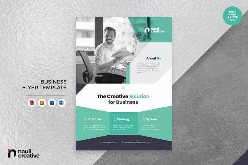 Corporate Business Flyer Example