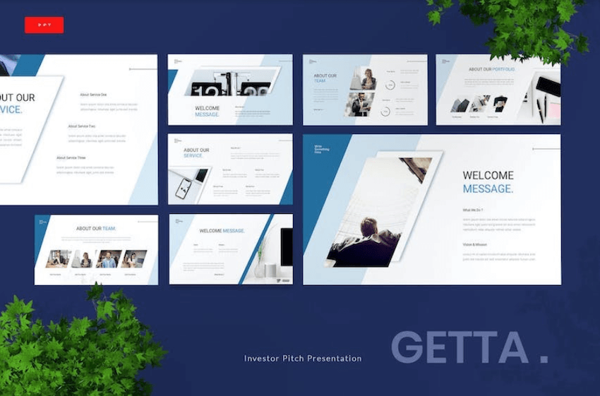 30 Best Pitch Deck Templates For Business Plan Powerpoint Presentations