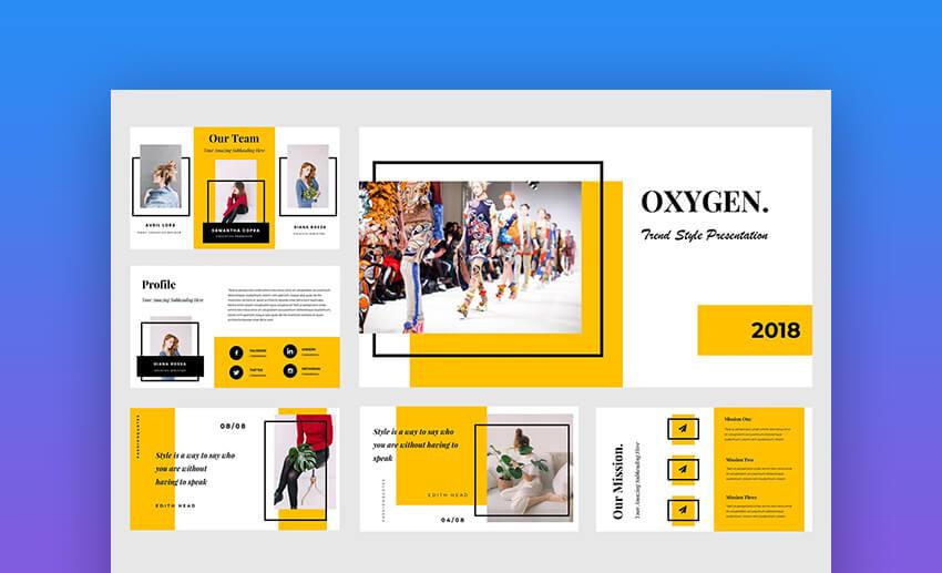 Oxygen PowerPoint Template