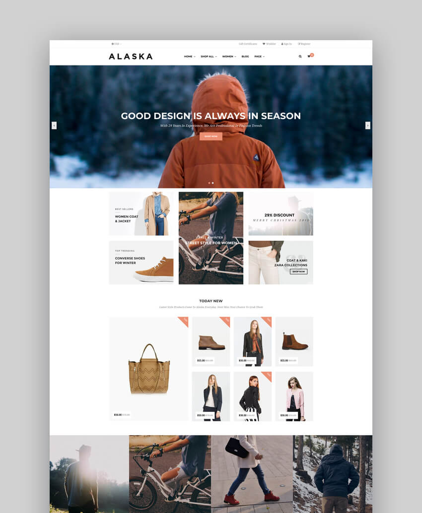 AP Alaska - Responsive BigCommerce Template