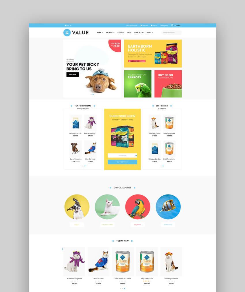 AP Value - BigCommerce Template for Pets  Fashion  Multipurpose