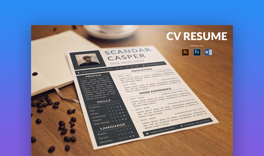 CV Resume Professional