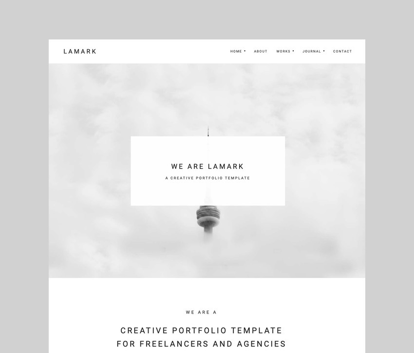 Lamark - Freelancer and Agency Theme for Elementor