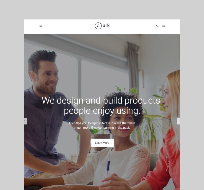 The Ark - WordPress Theme for Freelancers