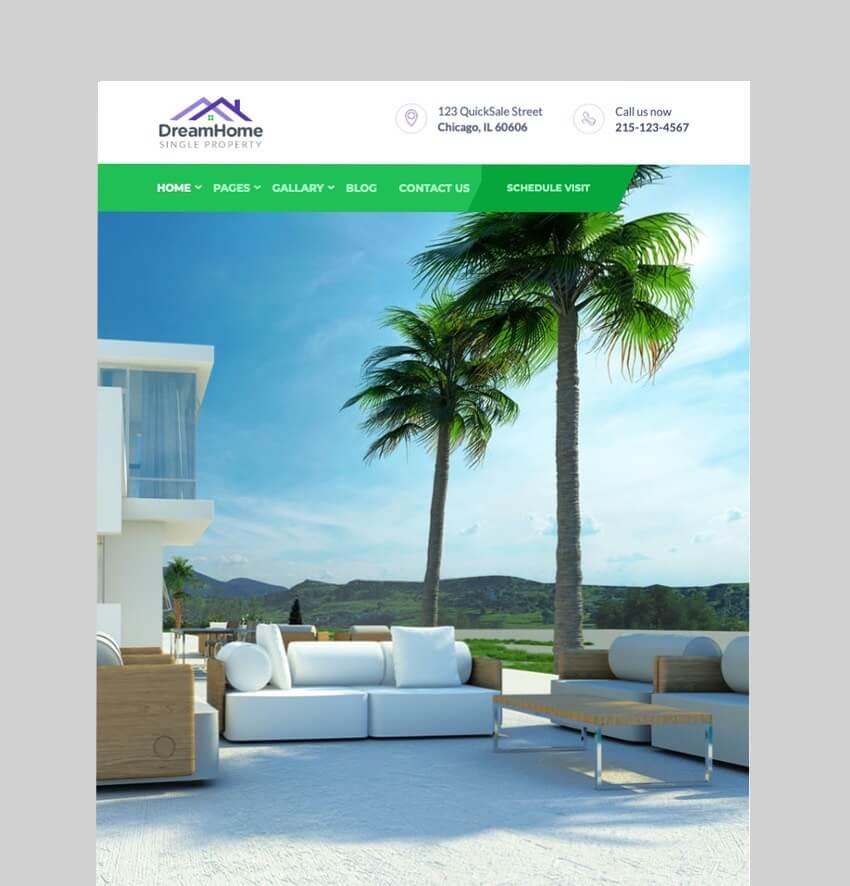 DreamHome - Single Property WordPress Theme
