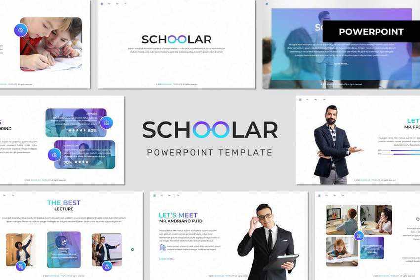Schoolar PowerPoint Template