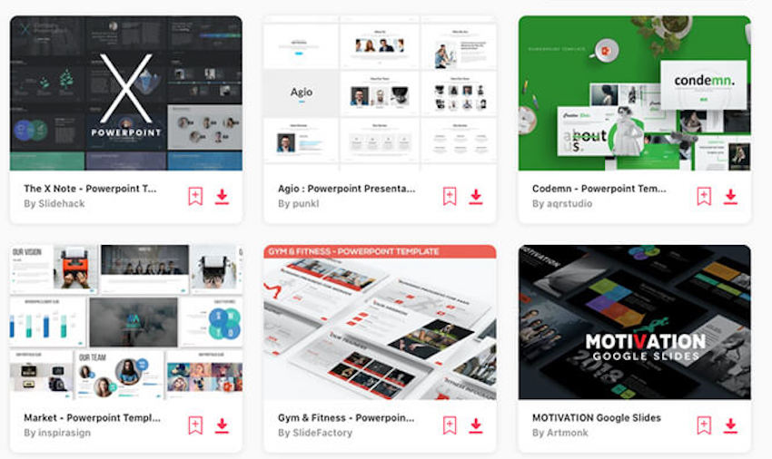 Quote powerpoint templates on Envato Elements