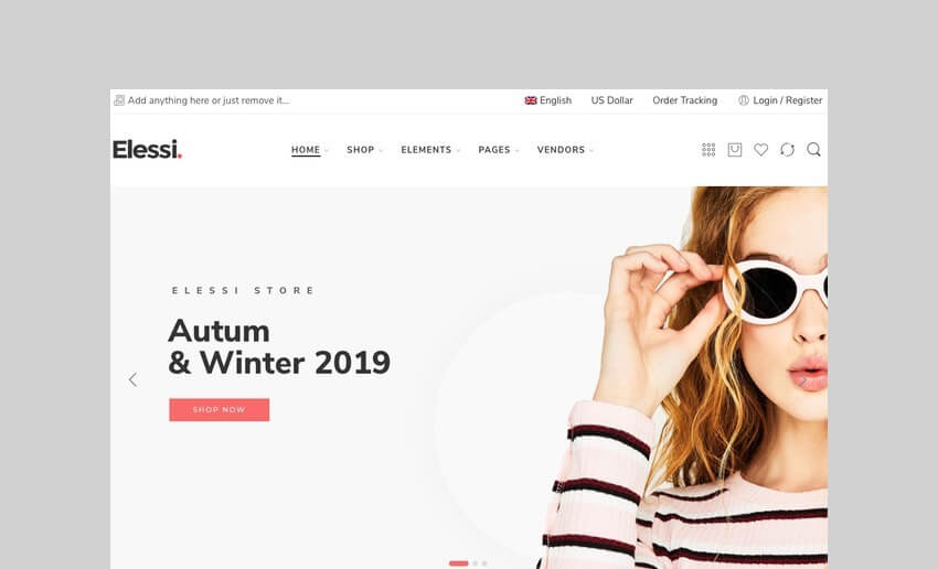 Elessi WooCommerce WordPress Dropshipping Theme