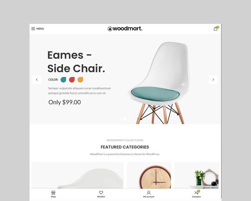 WoodMart WooCommerce dropshipping theme