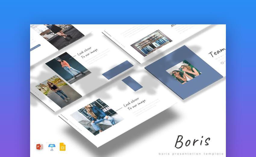 Boris PowerPoint Template