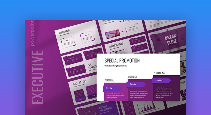 Executive - Business Powerpoint Presentation