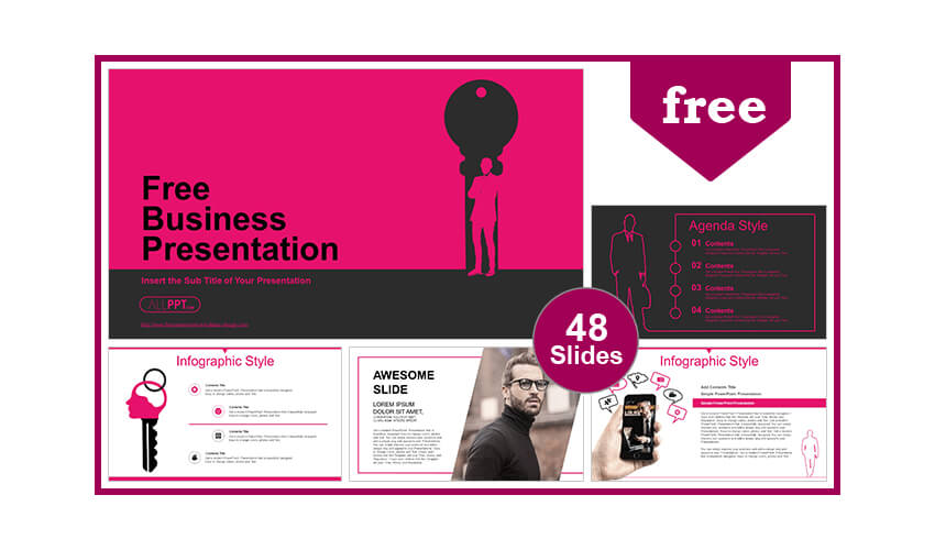 Businessman PowerPoint Templates for Free Download