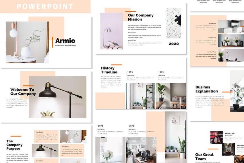 Armio Business PowerPoint Template