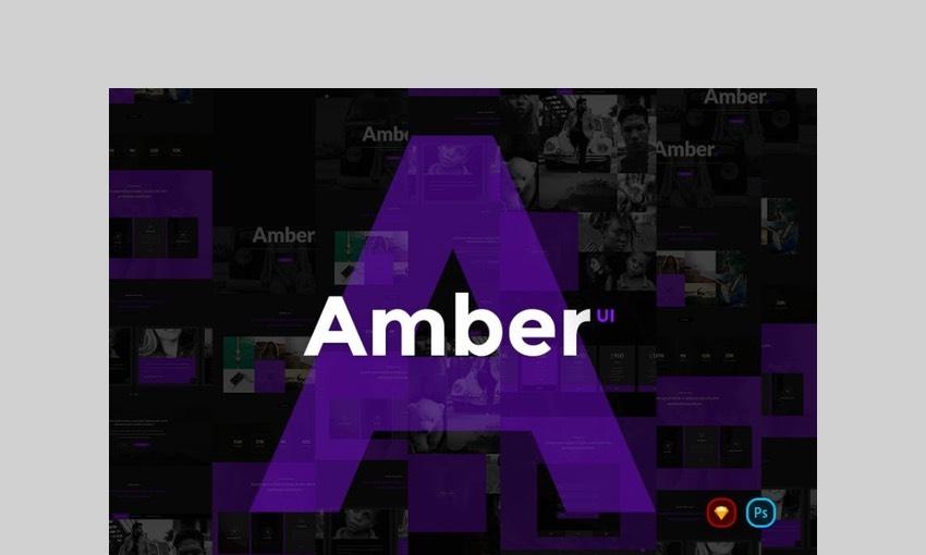 Amber UI Kit by webhance