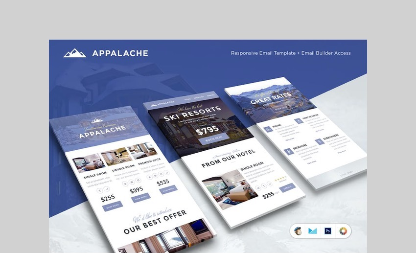 Appalache email template for real estate