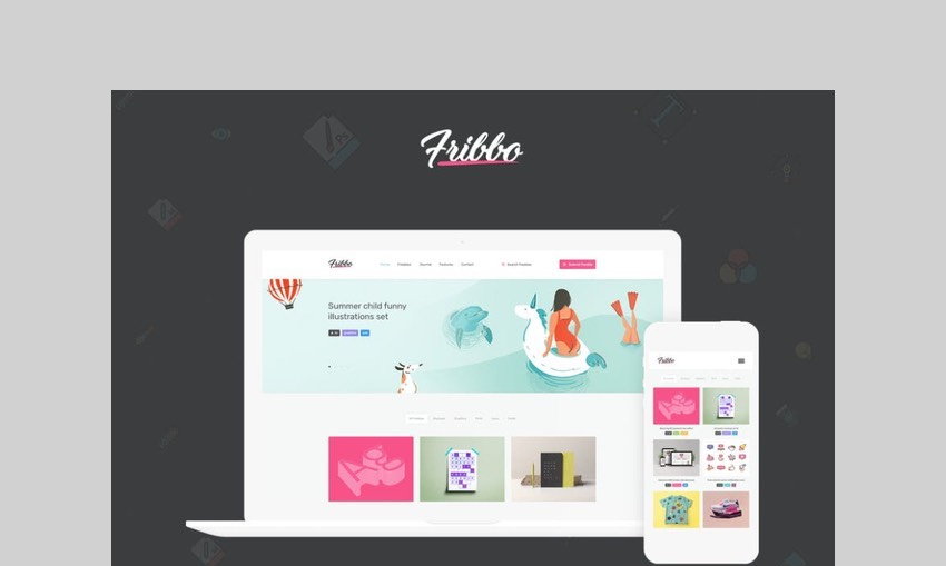 Fribbo WordPress theme