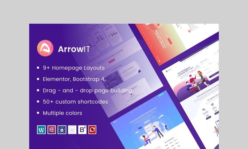 ArrowIT technology WordPress Theme