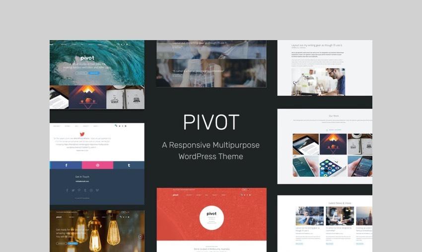 Pivot responsive wordpress theme