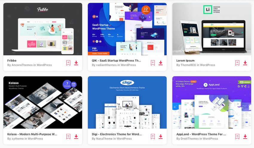 WooCommerce digital product themes