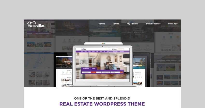 Home Villas WooCommerce membership theme
