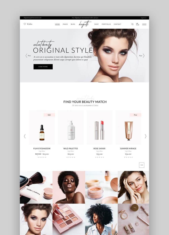 Biagiotti Beauty WordPress Theme