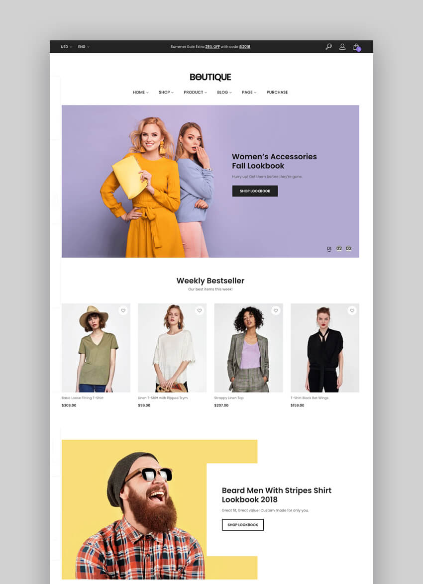 Boutique - Kute Fashion And Beauty WooCommerce Theme