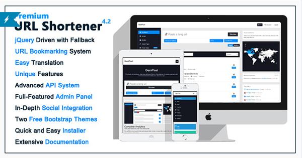 Premium URL Shortener