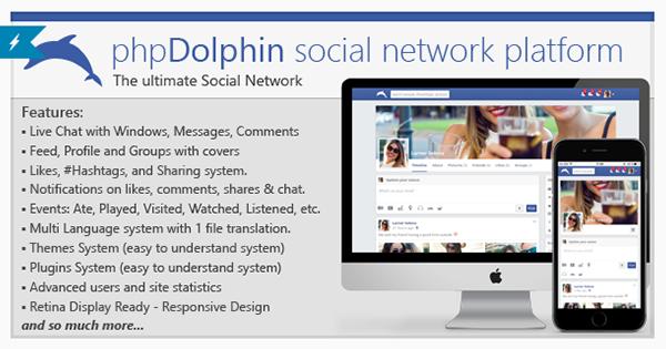 phpDolphin - Social Network Platform