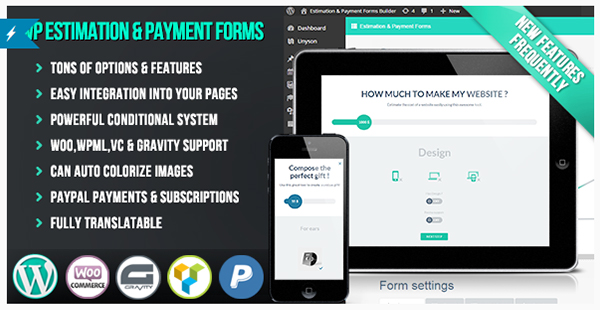 WP Estimation  Payment Forms Builder