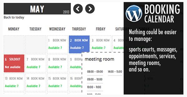 Calendario Prenotazioni Hotel Excel.20 Migliori Calendario Wordpress Plugin E Widget