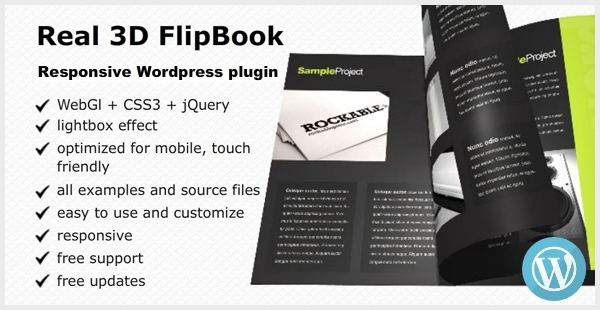 Real 3D FlipBook - WordPress Plugin