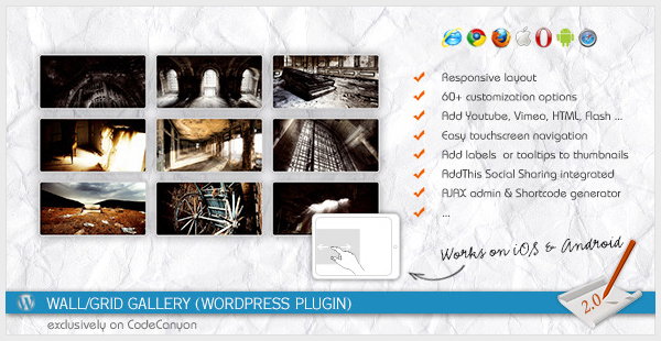 WallGrid Gallery WordPress Plugin