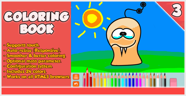 Coloring Book - HTML5 Game
