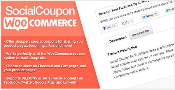 Social Coupon for WordPress