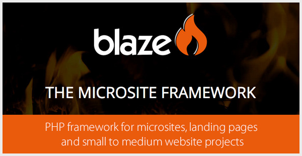 Blaze - PHP Framework for Small to Medium Websites