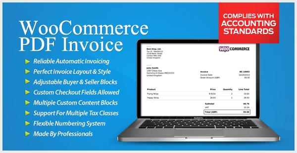WooCommerce PDF Invoice