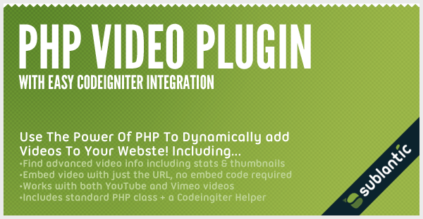 PHP Video Plugin