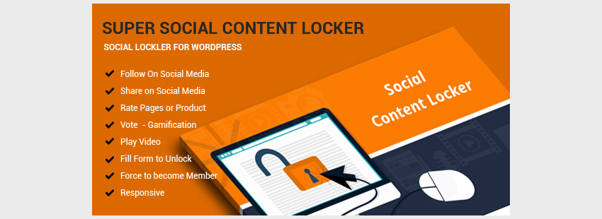 Super Social Content Locker