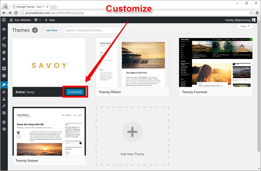 如何安装和设置一个新的WordPress WooCommerce主题