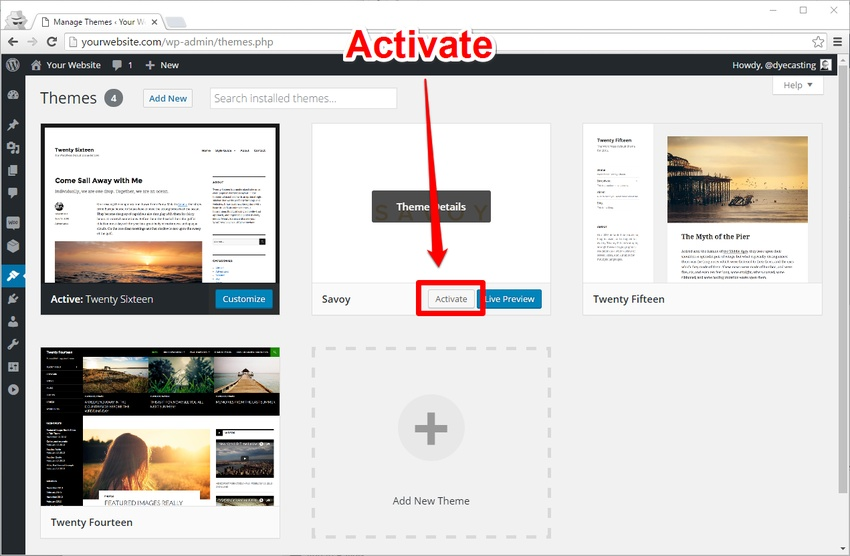 How to Install and Set Up a New WordPress WooCommerce Theme
